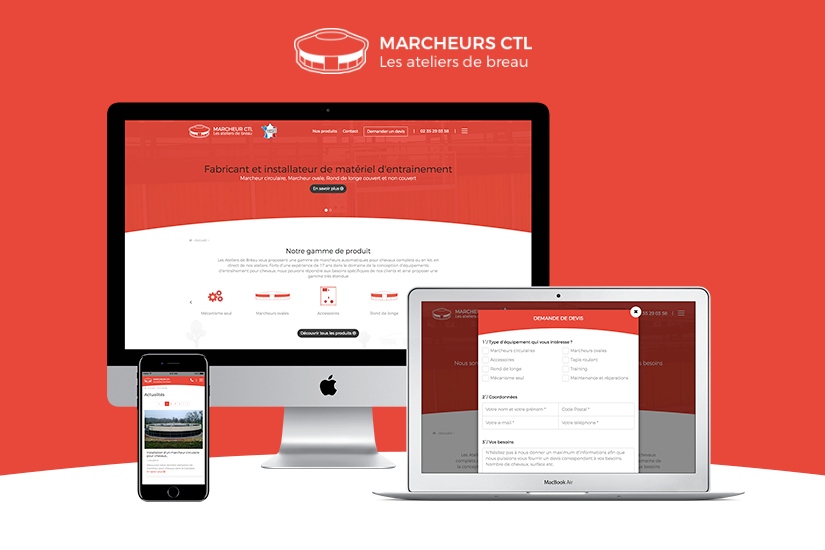 Site Internet Marcheur CTL